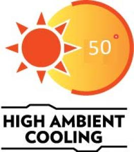 High ambient cooling