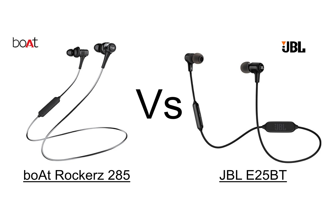 boAt Rockerz 285 vs JBL E25BT
