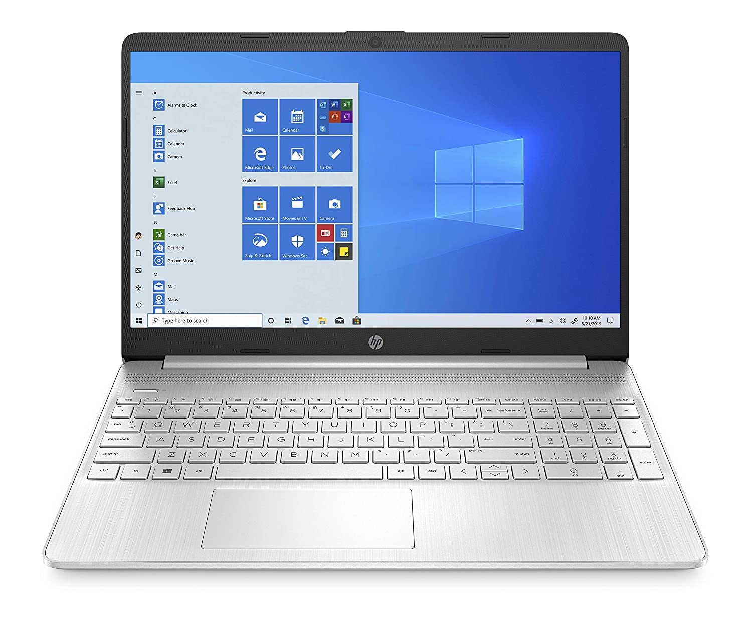 HP 15s Laptop (Ryzen 3-3200U/4GB/512GB SSD/Win 10/Microsoft Office 2019/ 1.77 kg) 15s-eq0063AU