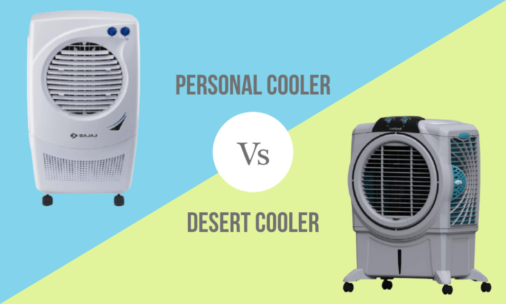 Difference between Personal and Desert Cooler