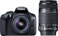 Canon EOS 1300D DSLR Camera Body with Dual Lens:18-55 mm+55-250 mm