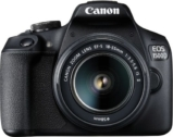 Canon EOS 1500D Single Kit with 18-55 lens (16 GB Memory Card & Carry Case) DSLR Camera  (Black)