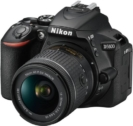 Nikon D5600 DSLR Camera Body with Single Lens: AF-P DX Nikkor 18-55 MM F/3.5-5.6G VR (16 GB SD Card + Camera Bag)  (Black)